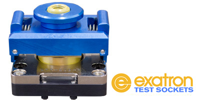 Exatron's Custom IC semiconductor Test Sockets made to suit your exact application. DC to RF, low to high temp, single contact and Kelvin, non-magnetic, thermal and more from bench test to production.