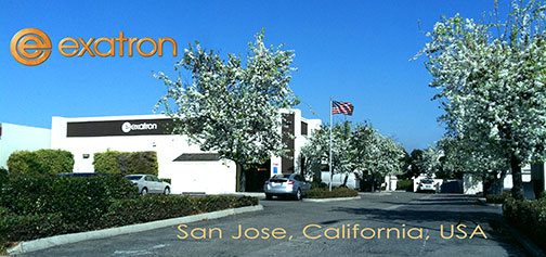 Exaton Test Sockets located in San Jose, California  USA